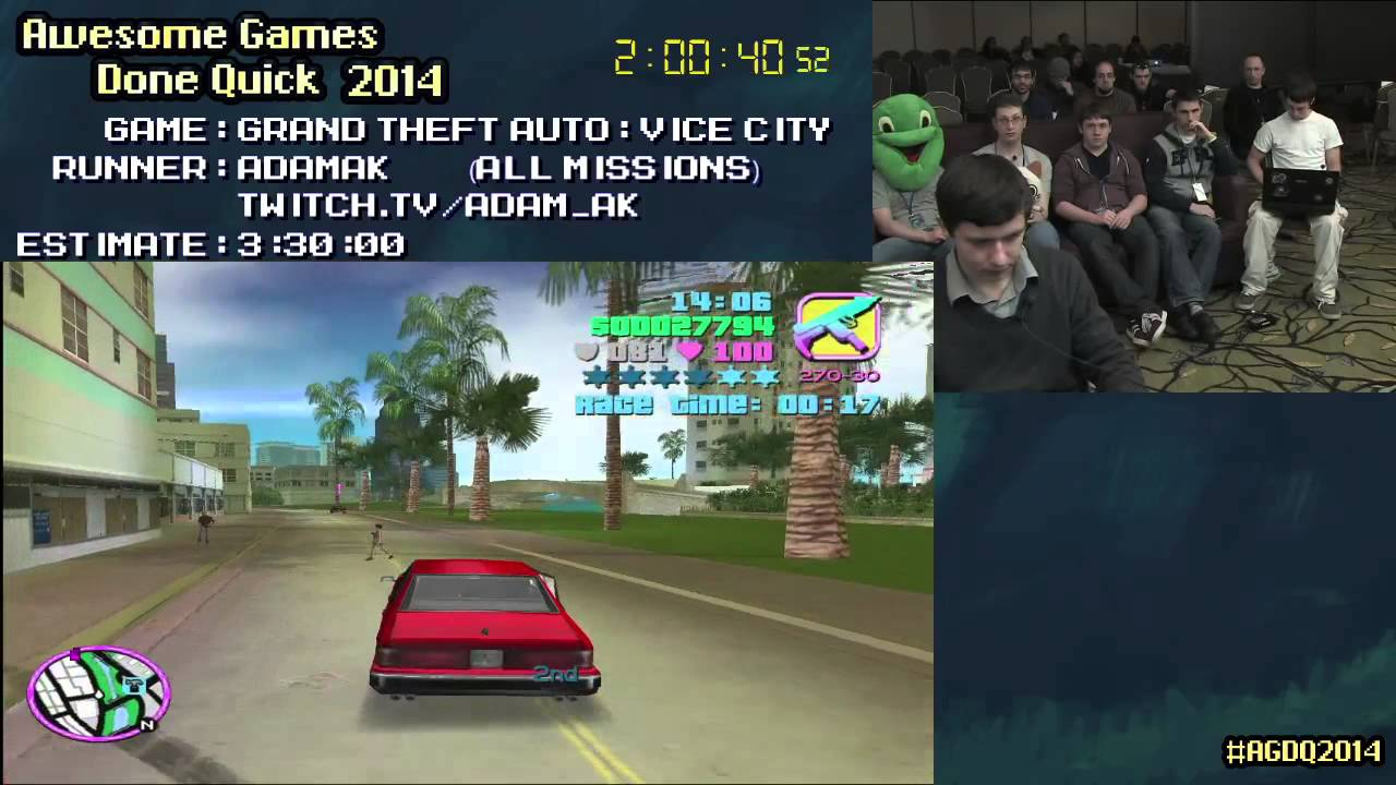 Grand Theft Auto Vice City Speed Run In 3 03 23 All