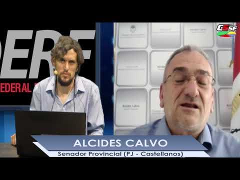 Alcides Calvo: Hoy la conectividad en toda la Provincia es fundamental