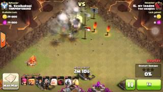 Builder hut glitch and clan war