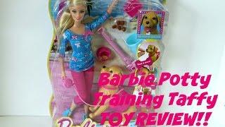 Barbie Potty Training Taffy Toy Review-OneTimeShow