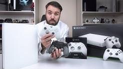 Eine der schönsten Konsolen! - Der neue Elite Controller in weiß & Xbox One X im Robot White
