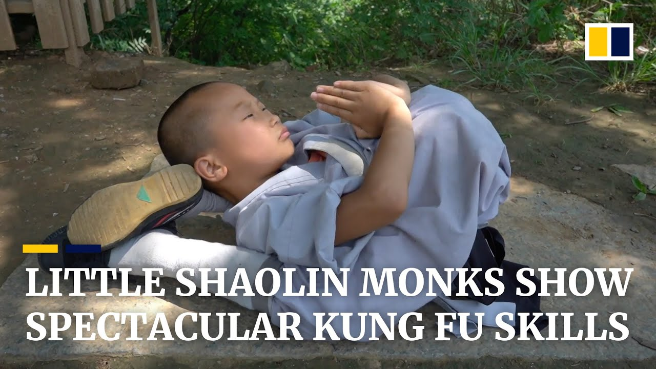 Download 'I want to protect my family, so here I am', says 9-year-old Shaolin monk