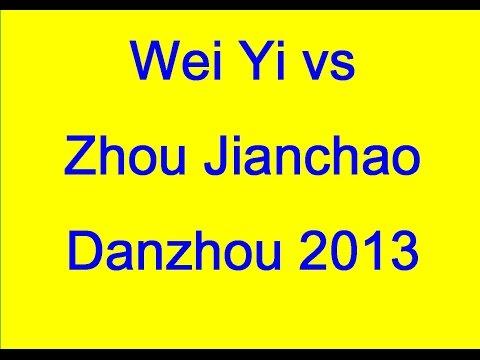 Wei Yi vs Zhou Jianchao - Danzhou 2013