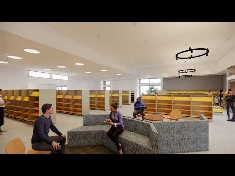 Yankalilla Library Walkthrough Video Interior Concept From Main Entry