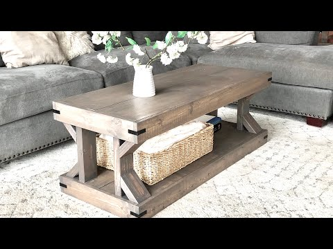 easy-to-build-modern-farmhouse-coffee-table-#anawhite