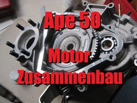 Die Apeschrauber - Piaggio Ape 50 Motor zusammenbauen