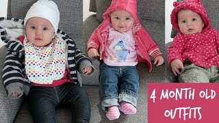 Baby Outfits For A Week | 4 Month Old