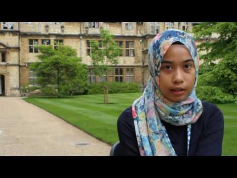 Oxford Sharing Session: Aishah Prastowo