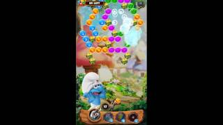 Smurf Bubble Story Game Level 56 | The Lost Village Game
