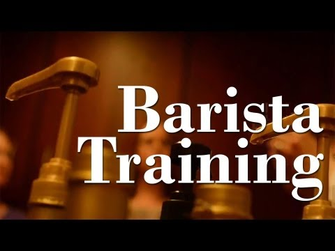 Coffee Mill trains new baristas
