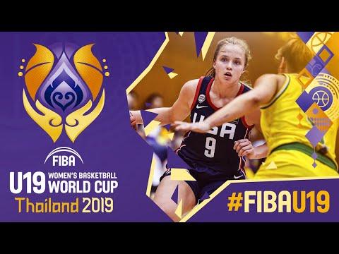 Australia V USA - Full Game - FIBA U19 Women's Basketball World Cup 2019
