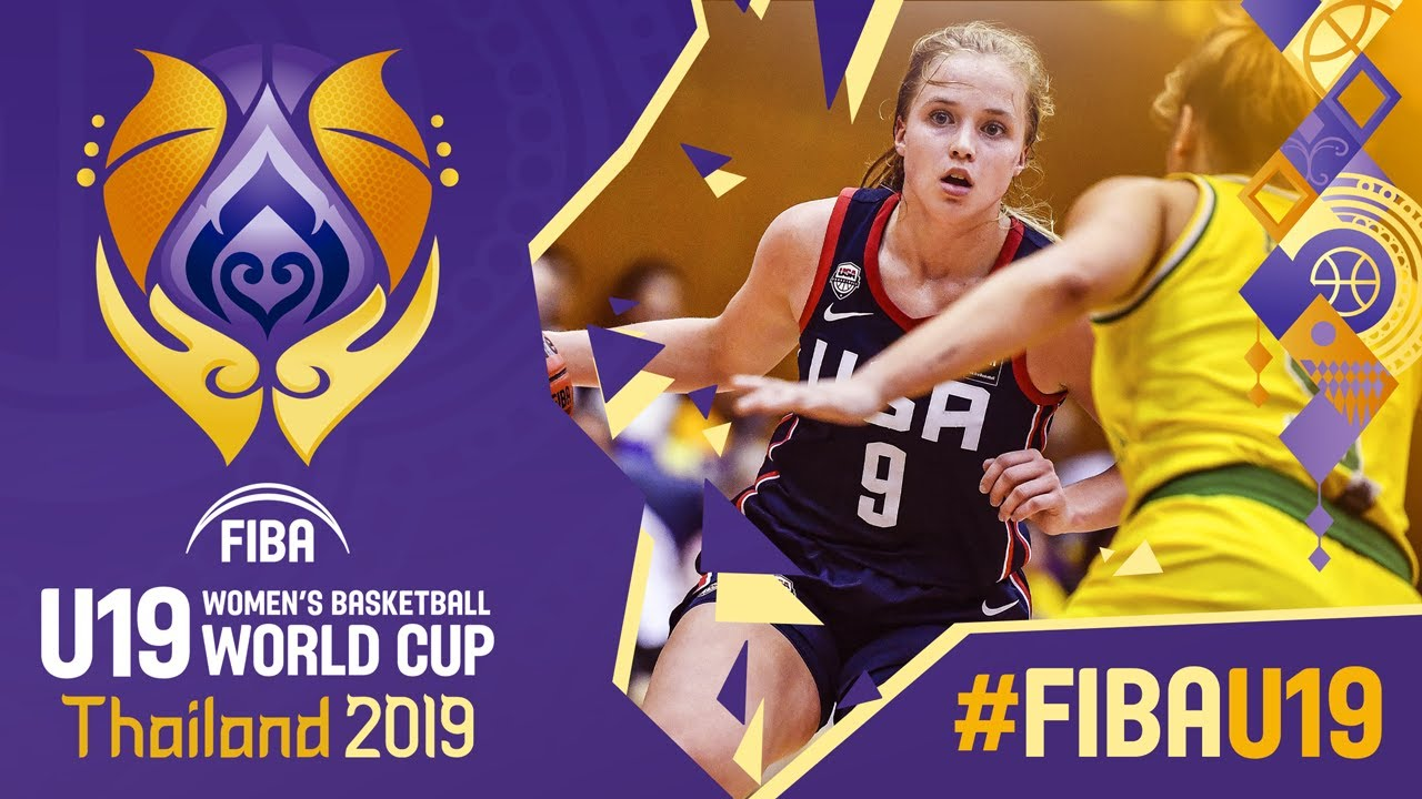 Download Australia v USA - Full Game - FIBA U19 Women's Basketball World Cup 2019
