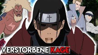 Alle Tode der Kage aus Naruto Erklärt!