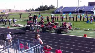 Chaparral Marching Band Performs Beyond the Forest