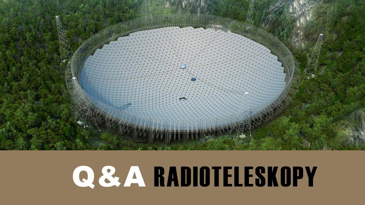 Pytania i odpowiedzi – Radioteleskopy