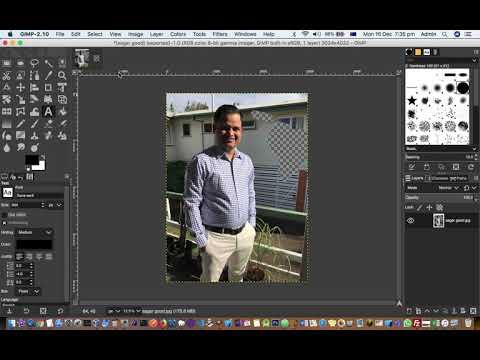 Save photo in jpg, gif, png format in GIMP MAC thumbnail