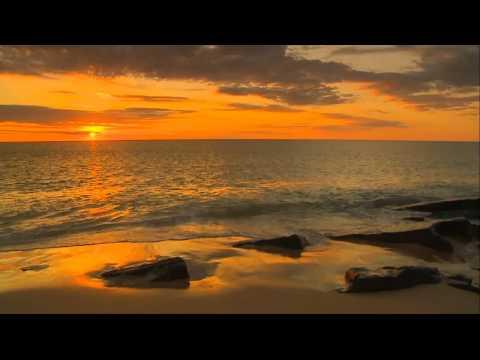 Закат на море (релакс).