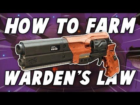 Warden of Nothing Speedrun Guide - Farm Warden's Law (Destiny 2 Forsaken) thumbnail