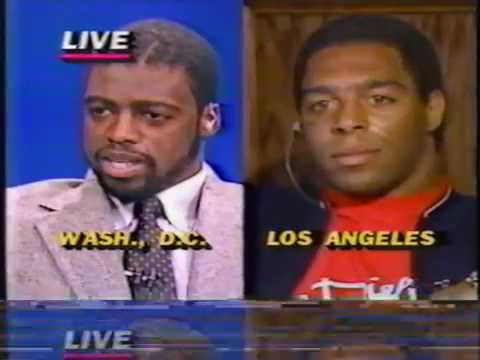 darrell green marcus allen interview 1984