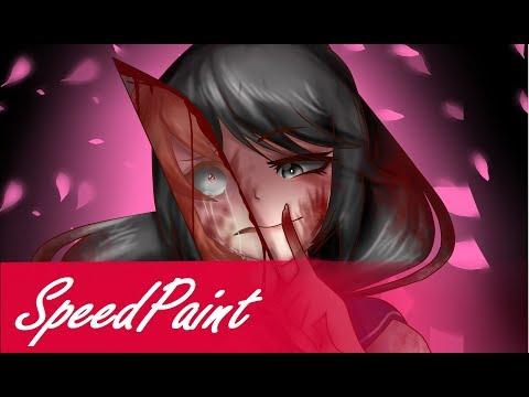 SpeedPaint: Yandere Simulator Ayano Aishi