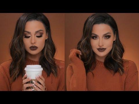 Warm Caramel Mocha Fall Makeup Tutorial