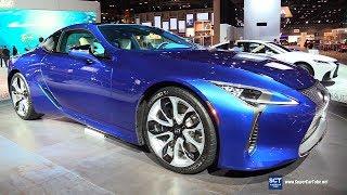 2018 Lexus LC 500 - Exterior and Interior Walkaround - 2018 Chicago Auto Show