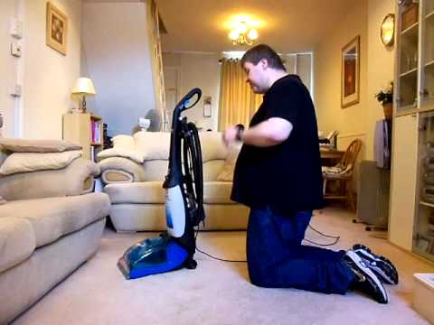 Vax Rapide Deluxe V-026 (2006) Carpet washer - Detailed review