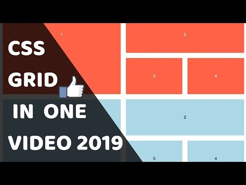 Complete CSS GRID Tutorial In ONE VIDEO In HINDI 2019