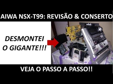 Aiwa NSX-T99: Manutenção e reparos no Tapedeck