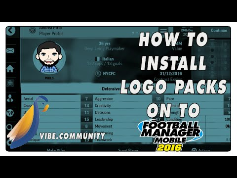 How To Install Logo Packs On To Football Manager Mobile