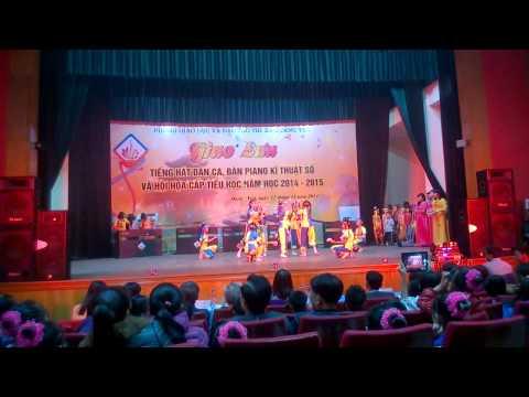 Tiếng mõ học bài (Múa gáo dừa) - Phần thi Cụm 2