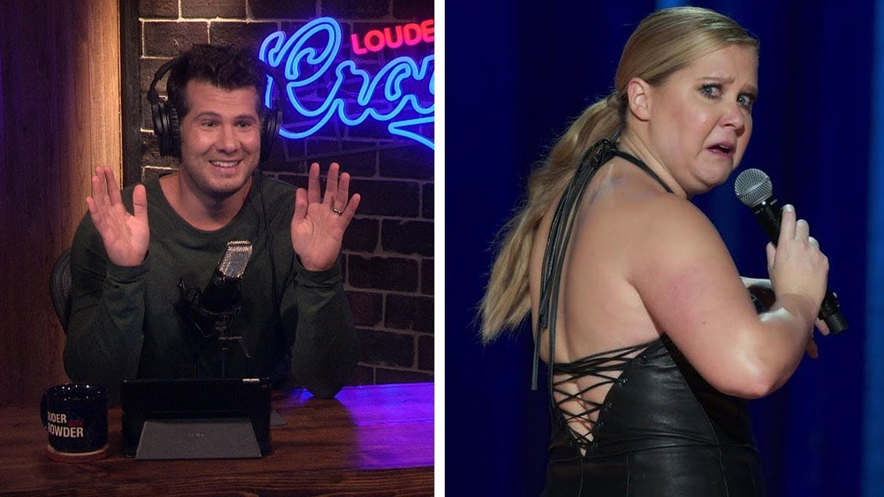 AMY SCHUMER DEMANDS CHRIS ROCK MONEY! Ironically Disproves 'Wage' Myth... | Louder With Cr
