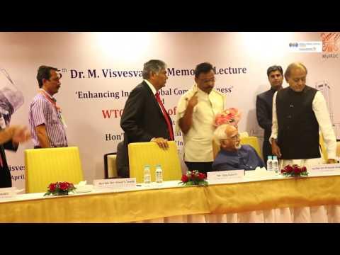 Chief Guest - Hon'ble Shri M. Hamid Ansari, Vice President of India at #WTC Mumbai