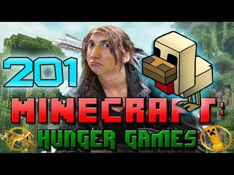Minecraft: Hunger Games w/Mitch! Game 201 - FUNNIEST HUNGER GAMES :D