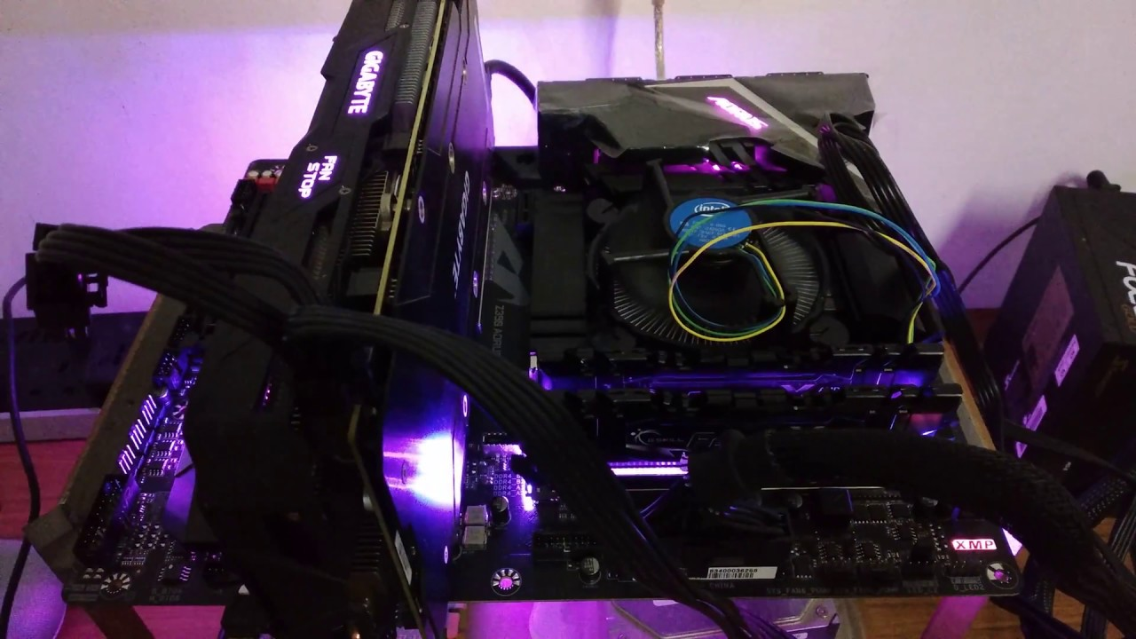 #技嘉 #Gigabyte #Z390 #AORUS PRO WIFI motherboard with RGB fusion