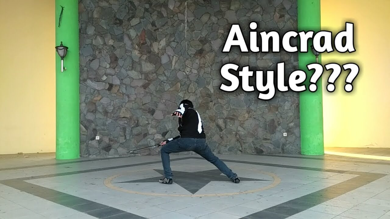 How to Aincrad Style??? - YouTube