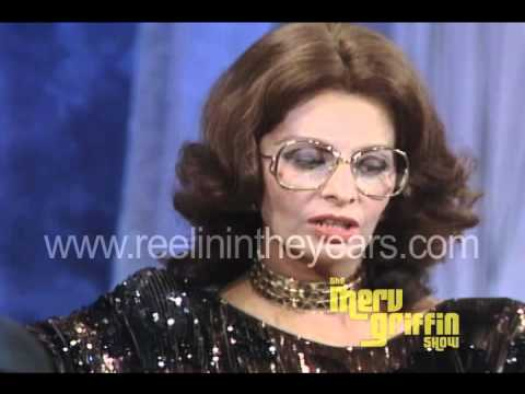 Sophia Loren interview (Merv Griffin Show 1984)