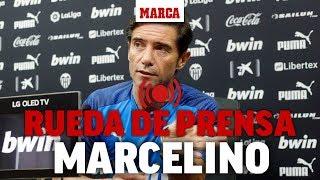 Rueda de prensa de Marcelino, en directo I MARCA