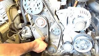 Calage distribution VW, AUDI, SEAT, SKODA - تركيب حزام كاتينة