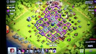 Clash of Clans 1 million loot raid! domino.07
