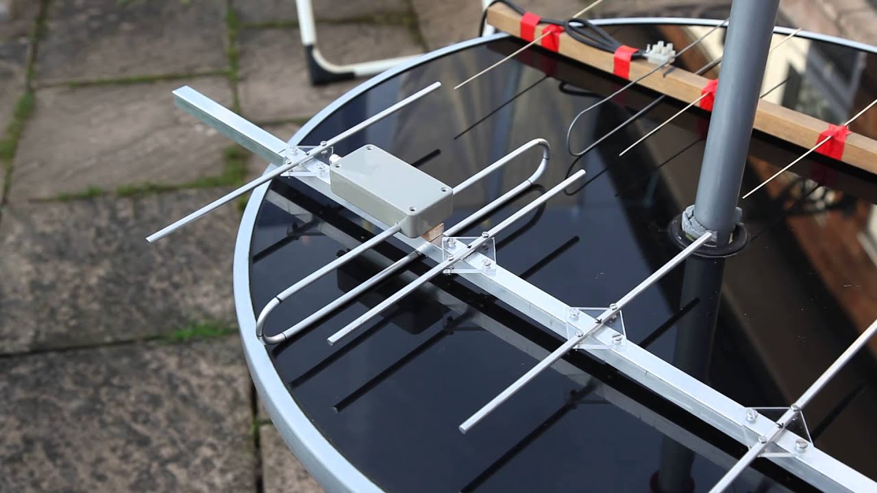 Homemade 70cm Yagi Beam Antennas