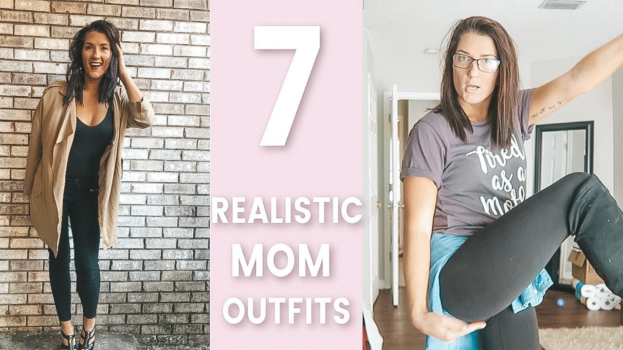 Outfits of the Week 2018 | Winter | Casual + Realistic Mom Outfit Ideas