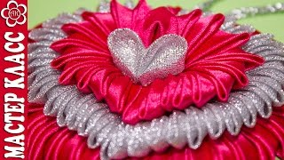 Tutorial de pingente em forma de coração Kanzachi