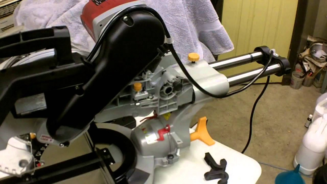 Harbor Freight 12 Double Bevel Sliding Compound Miter Saw Review Item 61970