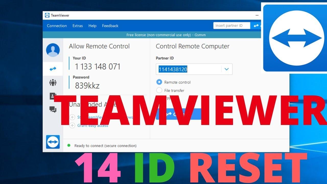 Teamviewer 14 Reset ID - Teamviewer 14 Crack