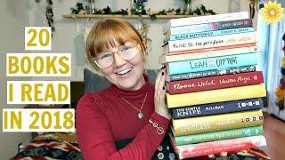 20 BOOKS I READ IN 2018 | MEGHAN HUGHES