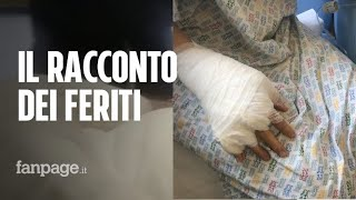 """Esplosione Rieti, il racconto dei feriti: """"Ci siamo ritrovati in una palla di fuoco"""" thumbnail"""