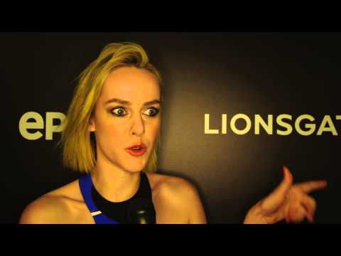 Jena Malone Interview - The Hunger Games Exhibition [HD]