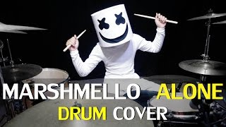 Alone - Marshmello - Drum Cover - Wayan (Ixora)