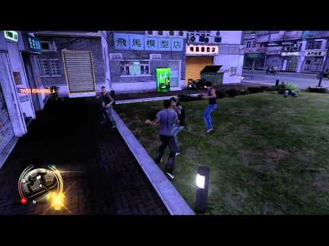 Sleeping Dogs - Xbox 360 - Pwnage in Lok Fu Park